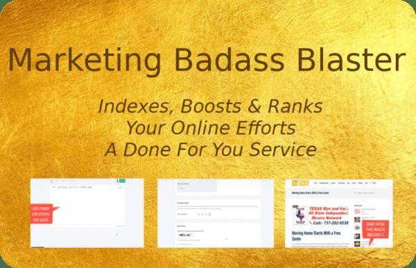 Marketing Badass Blaster